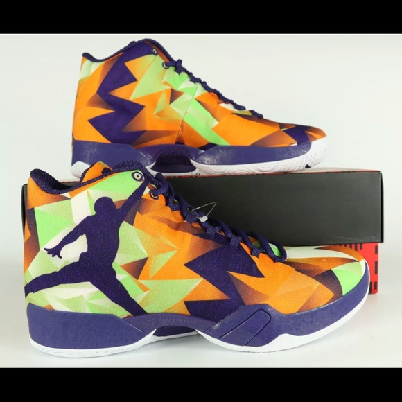newest collection 82cd3 36dbe Air Jordan XX9 29 Hare Retro MANDARIN INK GREEN